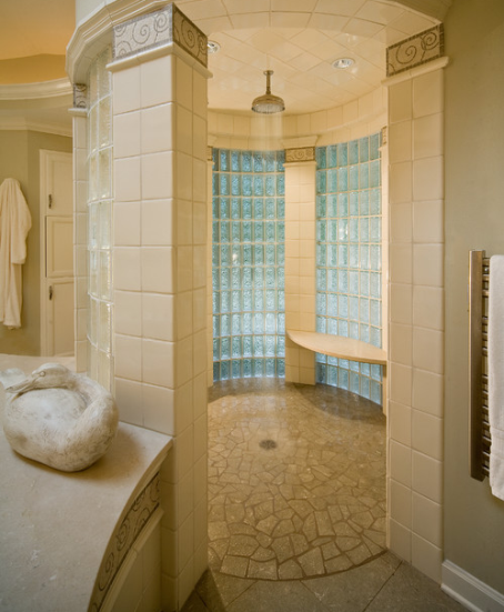 8 nice doorless shower design pictures for Bathroom designs open showers