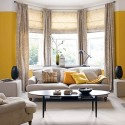 Traditional Living Room Ideas , 7 Awesome Window Treatments For Bow Windows In Living Room In Living Room Category