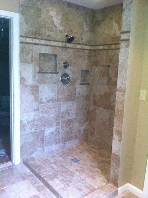 597x800px 6 Fabulous Walk In Doorless Showers Picture in Bathroom