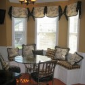 Furniture , 7 Good Valance Ideas For Bay Windows : Window Valance