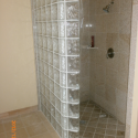 bathroom tile ideas , 6 Charming Doorless Walk In Shower In Bathroom Category