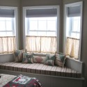 bay window , 7 Awesome Drapery Ideas For Bay Windows In Living Room Category