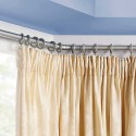 bay window , 8 Fabulous Curtain Rods For Bay Windows Ideas In Living Room Category