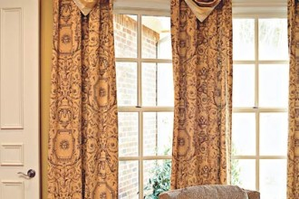 450x600px 7 Awesome Drapery Ideas For Bay Windows Picture in Living Room