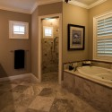 design bathroom , 9 Unique Doorless Shower Design Ideas In Bathroom Category