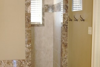736x1103px 7 Outstanding Doorless Shower Pictures Picture in Bathroom
