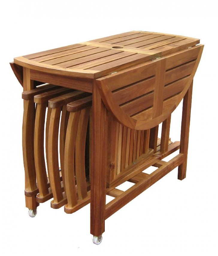 Furniture , 7 Awesome Collapsible Dining Table And Chairs :  dining table and chairs