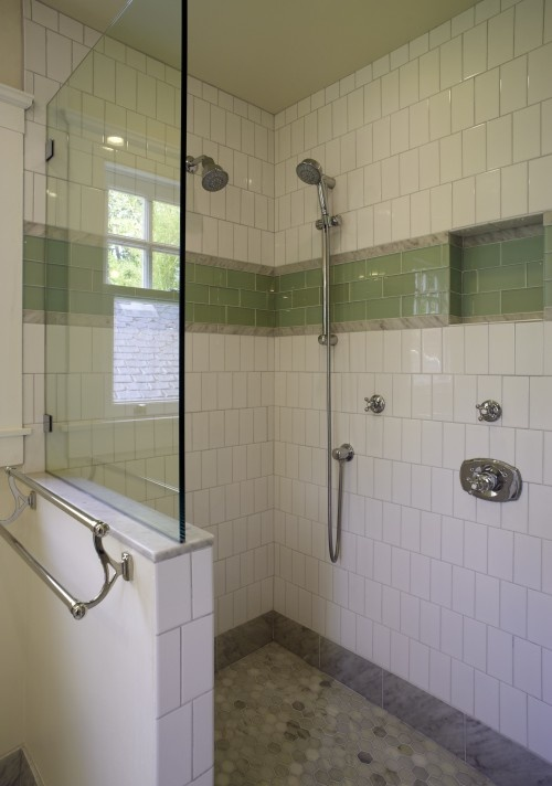 500x712px 8 Charming Doorless Shower Designs Picture in Bathroom