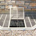 fiberglass window , 8 Ultimate Metal Window Well Grates In Apartment Category