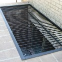 grating galvanized , 8 Awesome Metal Grates For Window Wells In Apartment Category