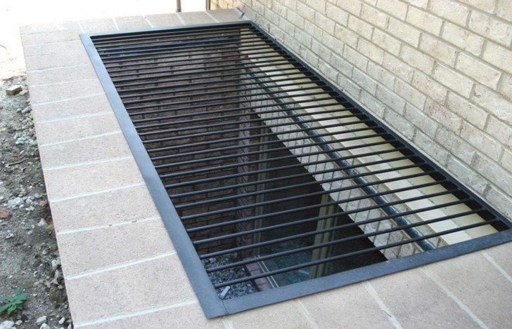 Apartment , 8 Awesome Metal Grates For Window Wells :  grating galvanized