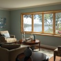 houzz modern living room , 8 Charmming Window Treatments For Bow Windows In Living Room In Living Room Category