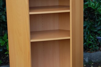 426x640px 9 Unique Ikea Corner Bookshelves Picture in Furniture
