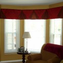 Furniture , 7 Good Valance Ideas For Bay Windows :  interior design ideas