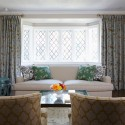 living room window dressing , 7 Awesome Window Treatments For Bow Windows In Living Room In Living Room Category