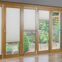 roller blind , 8 Unique French Door Enclosed Blinds In Living Room Category