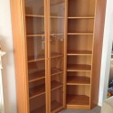 room divider bookcase , 9 Unique Ikea Corner Bookshelves In Furniture Category
