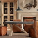 rustic dining table , 8 Lovely Restoration Hardware Flatiron Dining Table In Furniture Category