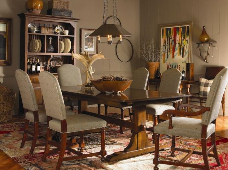 736x551px 7 Awesome Bob Timberlake Dining Table Picture in Furniture