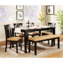 square dining table , 8 Awesome Rectangle Dining Table With Bench In Furniture Category