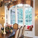 vertical blinds , 8 Hottest Curtain Ideas For Arched Windows In Living Room Category