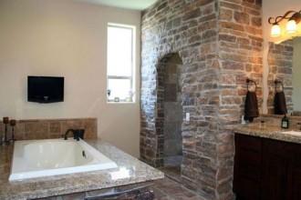 550x375px 8 Fabulous Doorless Walk In Shower Ideas Picture in Bathroom