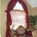 window dressing , 8 Hottest Curtain Ideas For Arched Windows In Living Room Category