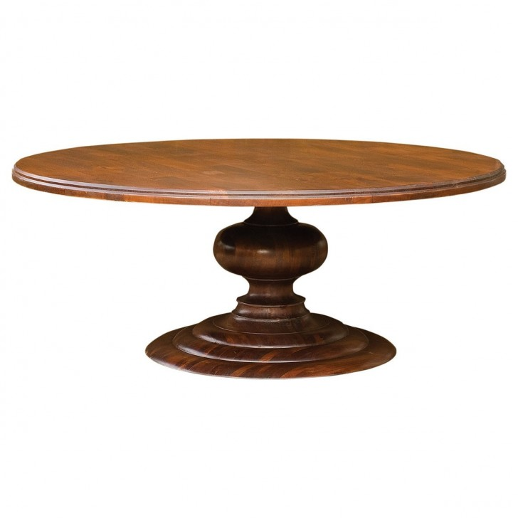 Furniture , 7 Awesome Round Pedestal Dining Tables : 72 Inch Round Dining Table
