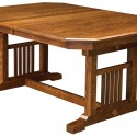 American Made Dining Room Table , 7 Stunning Dining Room Trestle Table In Furniture Category