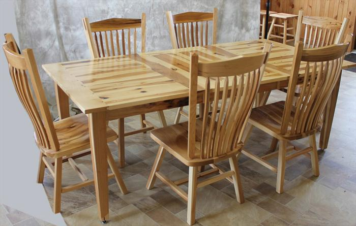 Amish Dining Table : 6 Stunning Hickory Chair Dining Tables ...