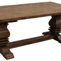Anaheim Reclaimed Wood Dining Table , 7 Charming Salvaged Wood Dining Tables In Furniture Category