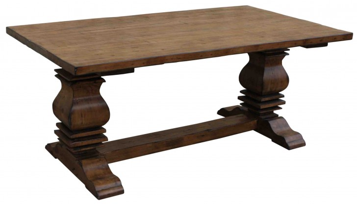 Furniture , 7 Charming Salvaged Wood Dining Tables : Anaheim Reclaimed Wood Dining Table