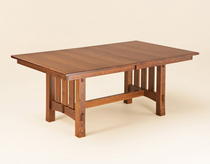 Furniture , 8 Gorgeous Trestle Dining Tables : Aspen Trestle Dining Table