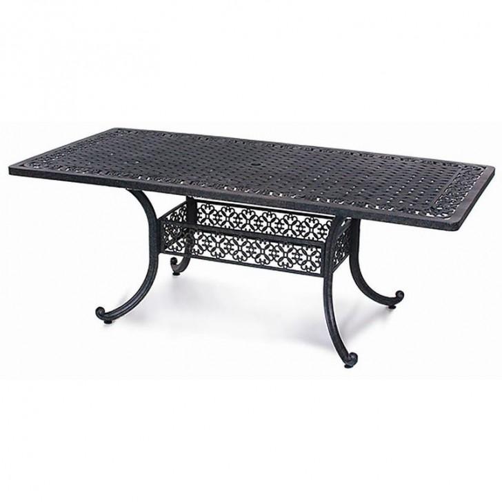 Furniture , 7 Stunning Rectangle Patio Dining Table : Athena Rectangle Patio Dining Table