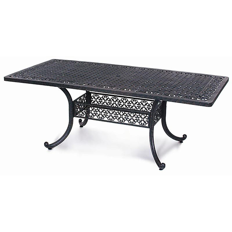 800x800px 7 Stunning Rectangle Patio Dining Table Picture in Furniture