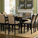 Cappuccino Counter Height Dining Table , 8 Lovely Counter Height Dining Room Table Sets In Dining Room Category