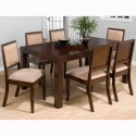Cappuccino Rectangular Dining Table , 8 Unique Jofran Dining Tables In Dining Room Category