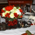 Christmas table , 9 Fabulous Christmas Dining Table Centerpiece In Furniture Category