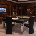 Convertible Billiard Dining , 8 Unique Convertible Dining Room Pool Table In Furniture Category