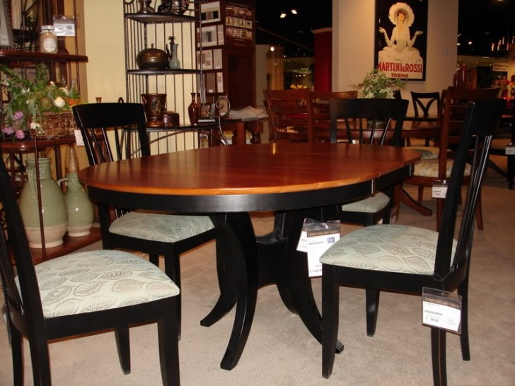 Dining Room , 8 Charming Ethan Allen Dining Room Tables : Saloom Dining Room Table vs. Ethan Allen Dining Room Table