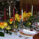 Decoration Ideas , 9 Fabulous Christmas Dining Table Centerpiece In Furniture Category