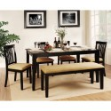 Dining Furniture , 8 Excellent Rectangle Dining Table With Bench In Furniture Category