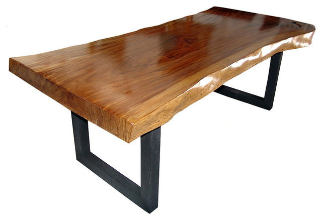 Furniture , 8 Charming Solid Acacia Wood Dining Table :  Dining Furniture