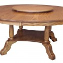 Dining Room Table , 8 Awesome Round Dining Table With Lazy Susan In Furniture Category