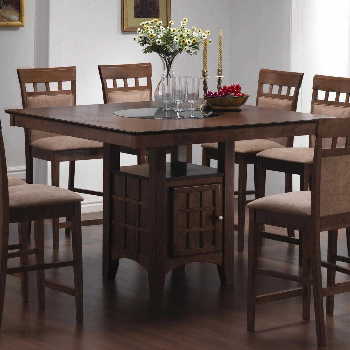 1395x1395px 8 Wonderful Lazy Susan Dining Room Table Picture in Dining Room