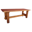 Dining Table Antique Furniture , 8 Awesome Antique Trestle Dining Table In Furniture Category