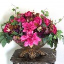 Dining Table Centerpiece , 7 Good Silk Flower Arrangements For Dining Room Table In Apartment Category