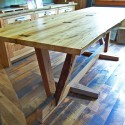 Dining Table , 7 Top Recycled Wood Dining Tables In Furniture Category
