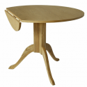 Drop Leaf Pedestal Dining Table , 7 Stunning Round Pedestal Dining Table With Leaf In Furniture Category