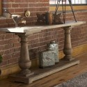 Farmhouse Console Table , 8 Good Reclaimed Wood Farmhouse Dining Table In Furniture Category